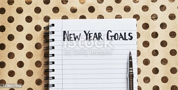 1057357020istockphoto What are your new year's resolutions? 1126417549
