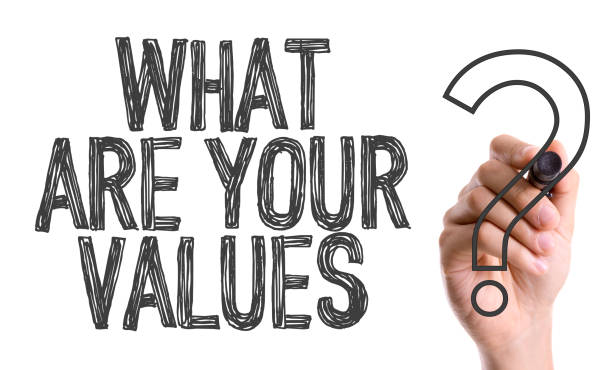 What Are Your Values? stock photo
