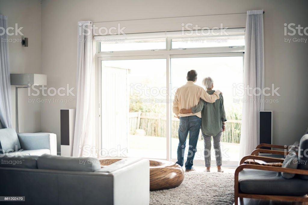 What better way to spend retirement? stock photo