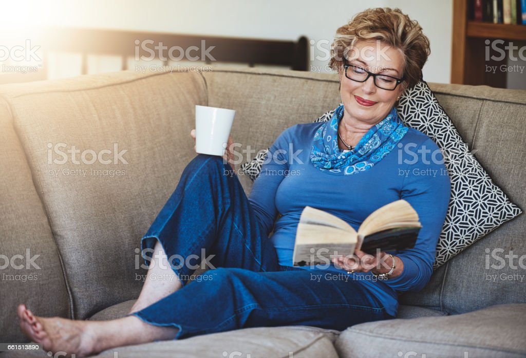 What better way to spend the retirement years stock photo