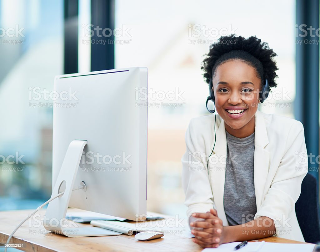 What can I do for you? stock photo