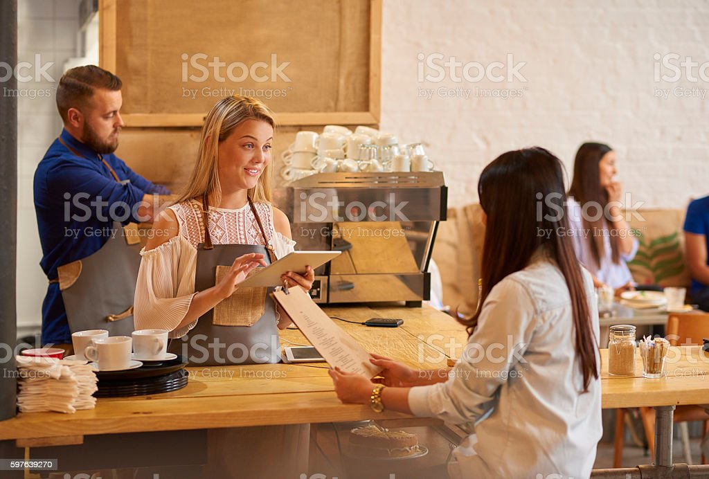 what can i get you stock photo