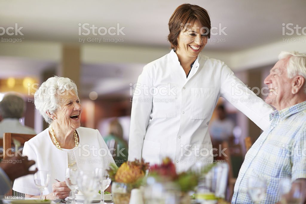 What can I get you to drink? royalty-free stock photo