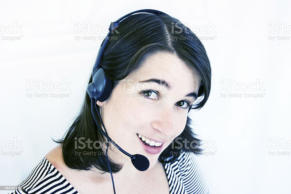 What can I help you with today? royalty-free stock photo