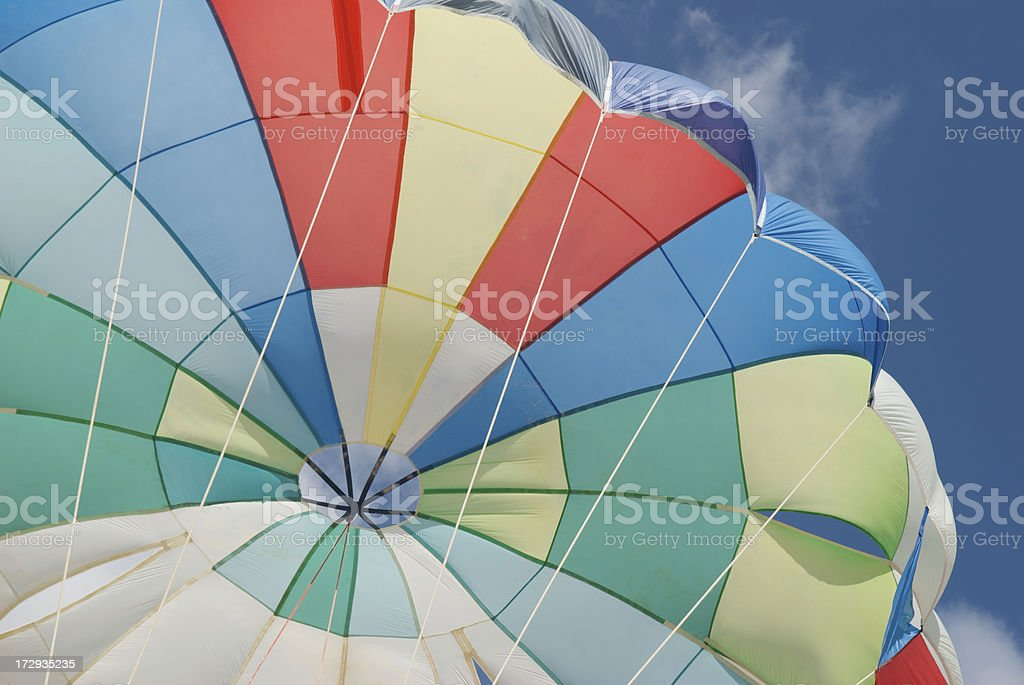What Colors Is Your Parachute? royalty-free stock photo