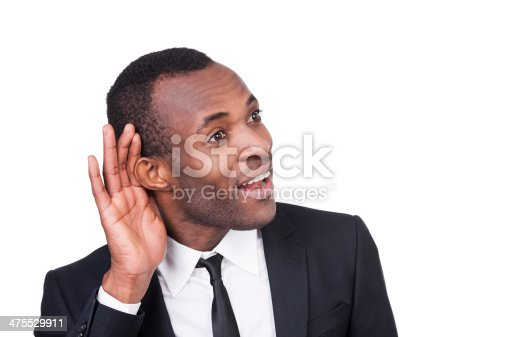 istock What did you say? 475529911