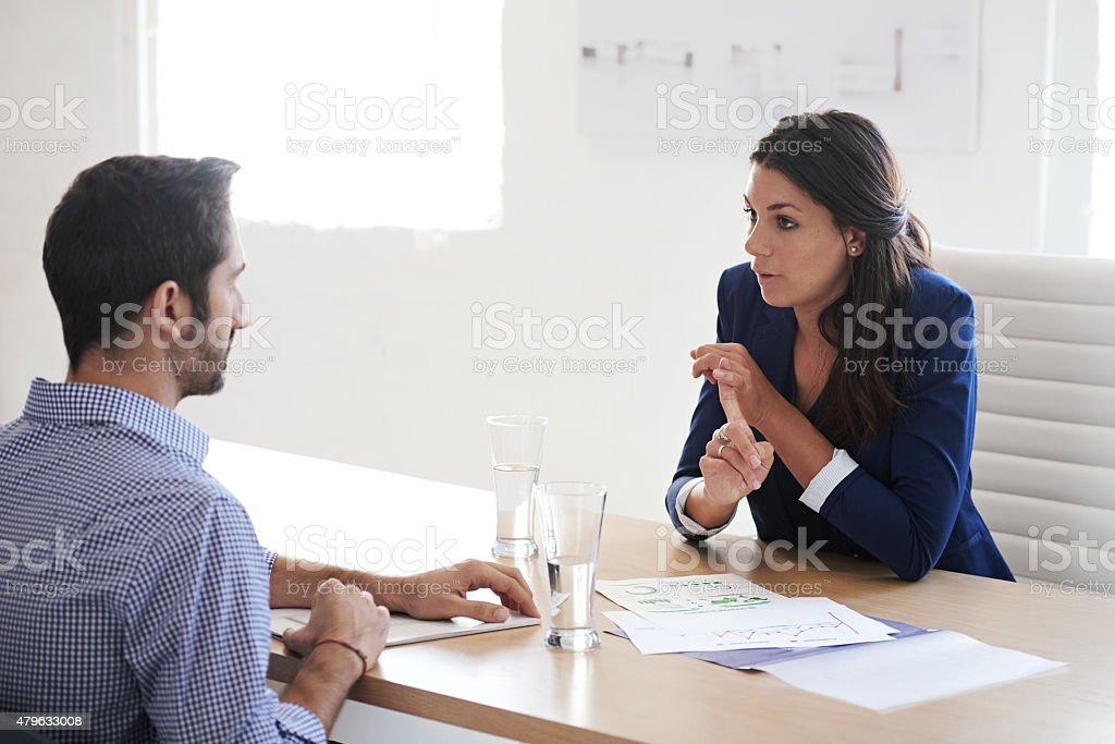 What distinguishes you from all the other candidates? stock photo
