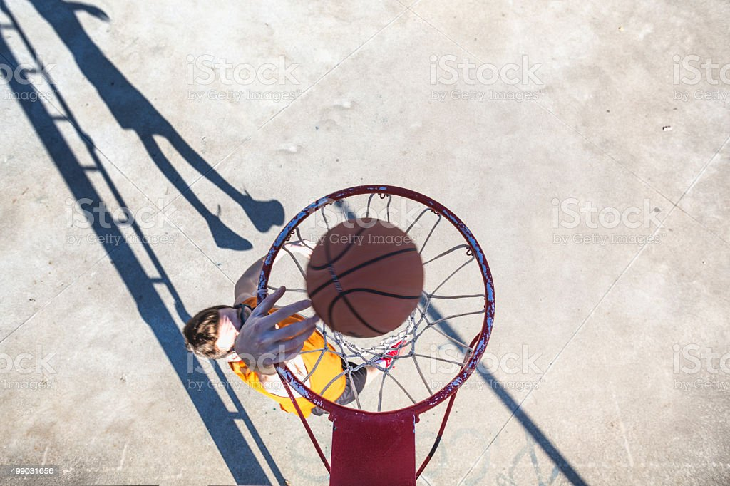 What does it take to be a basketball player stock photo