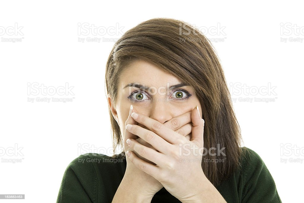 What have i done! royalty-free stock photo