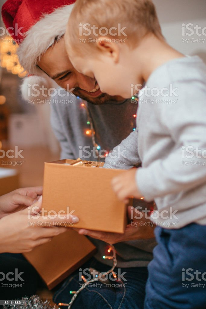 What have I got for Christmas? royalty-free stock photo