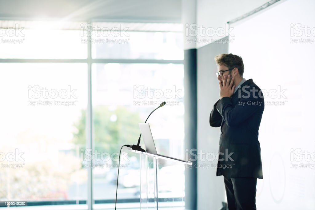 What have I gotten myself into? stock photo