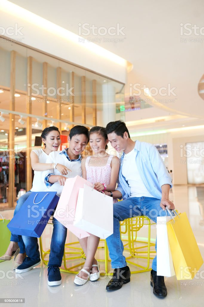 What have you bought stock photo