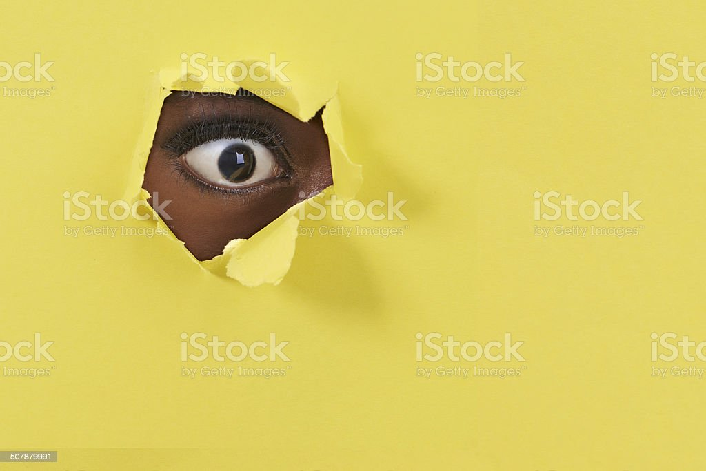 What! I can't believe my eye! stock photo