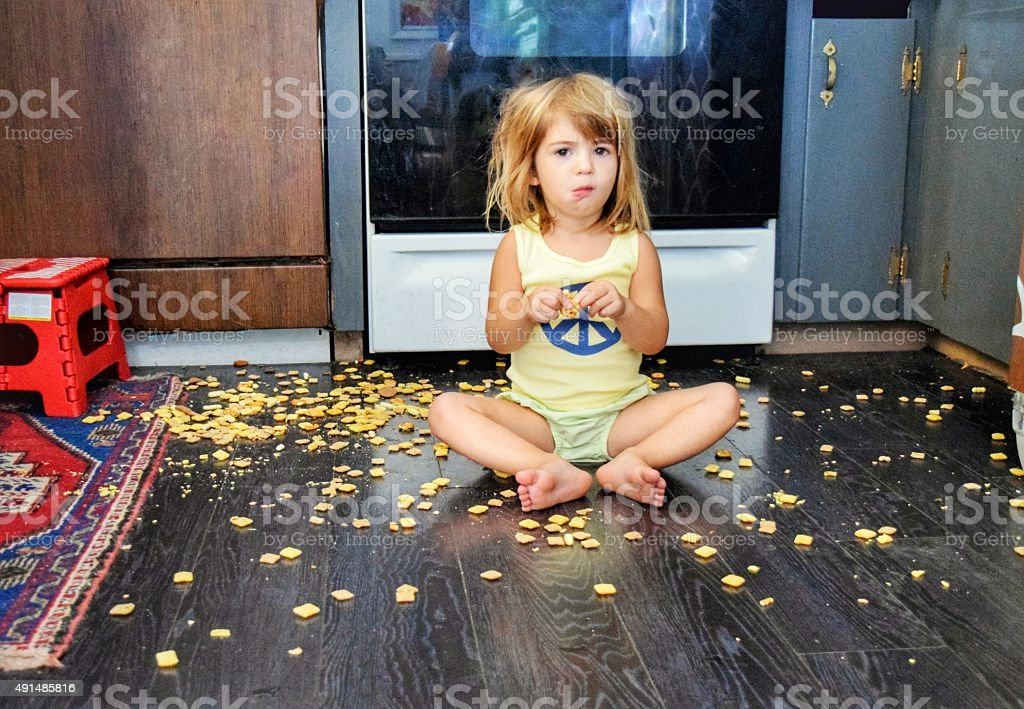 What!? I got my own snack stock photo