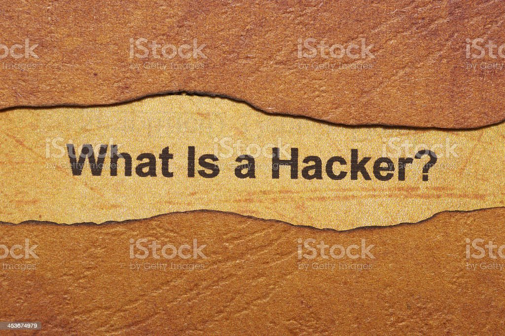What is hacker royalty-free stock photo