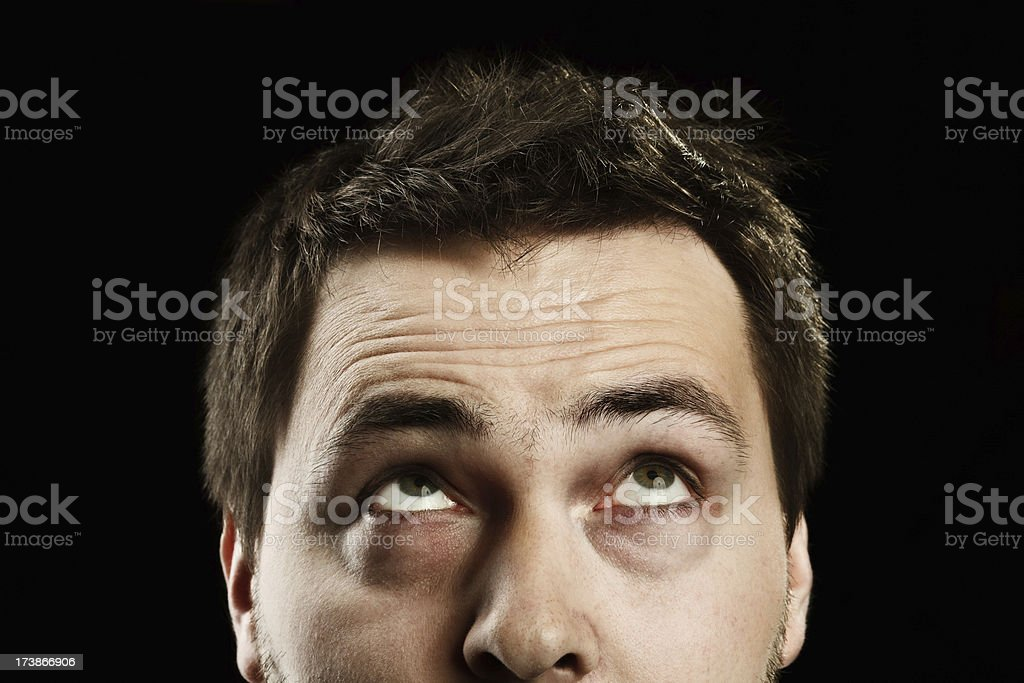 What is in my mind? stock photo