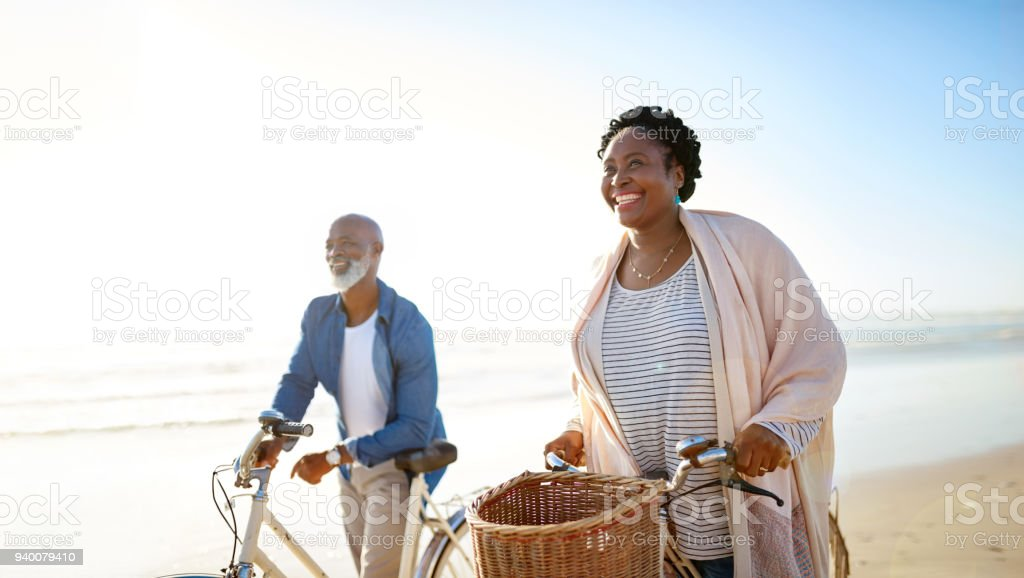 What is life if not lived to the fullest? stock photo