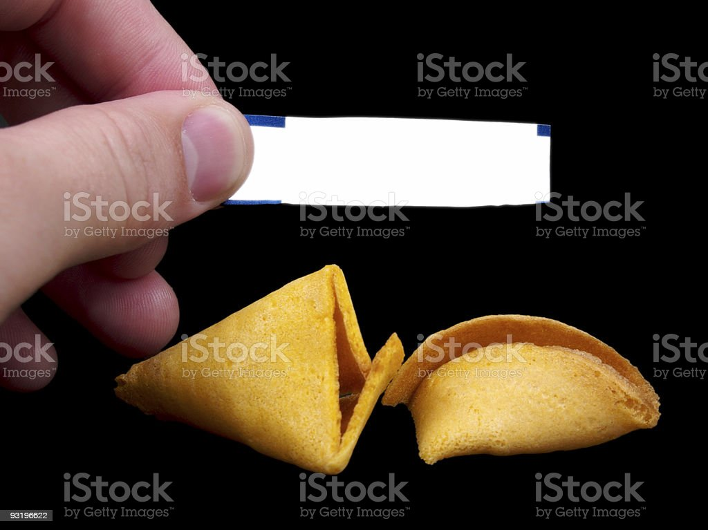 What is my Fortune? royalty-free stock photo