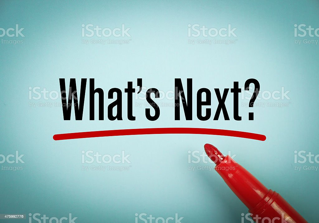 What is next stock photo