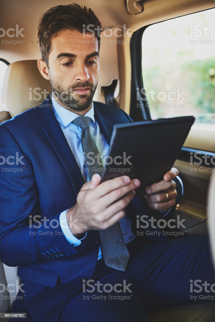 What is on today's schedule stock photo