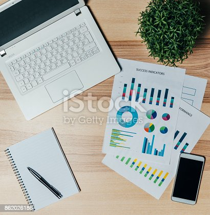 istock What is the profit for Q3? 862026186