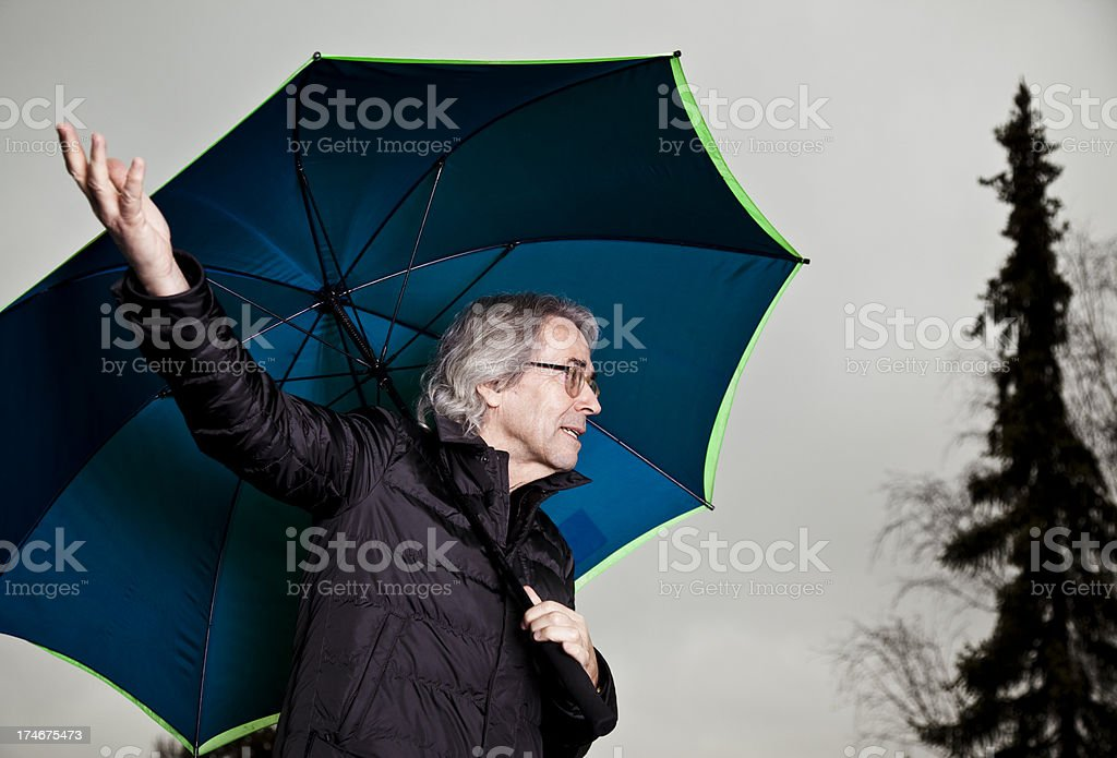 What is the weather like? royalty-free stock photo