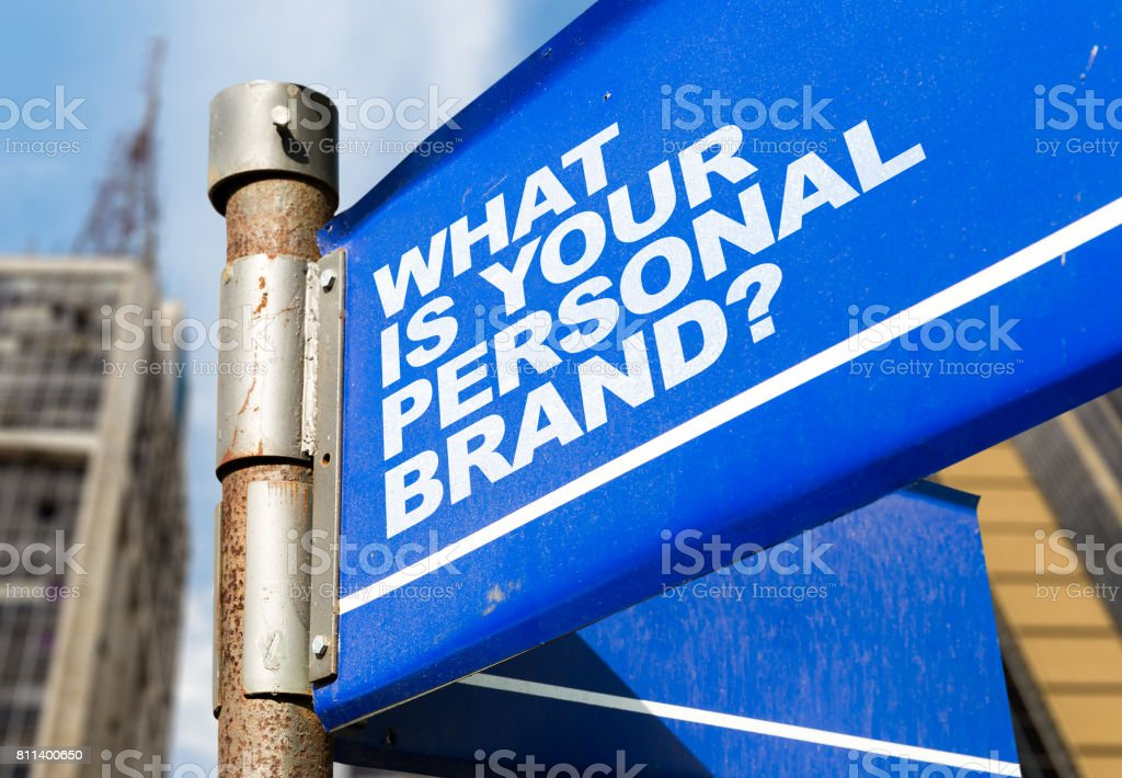 What is Your Personal Brand? stock photo