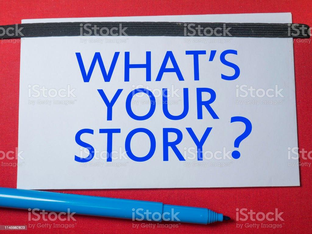Cuál Es Tu Historia Frases Inspiradoras Motivacionales Foto
