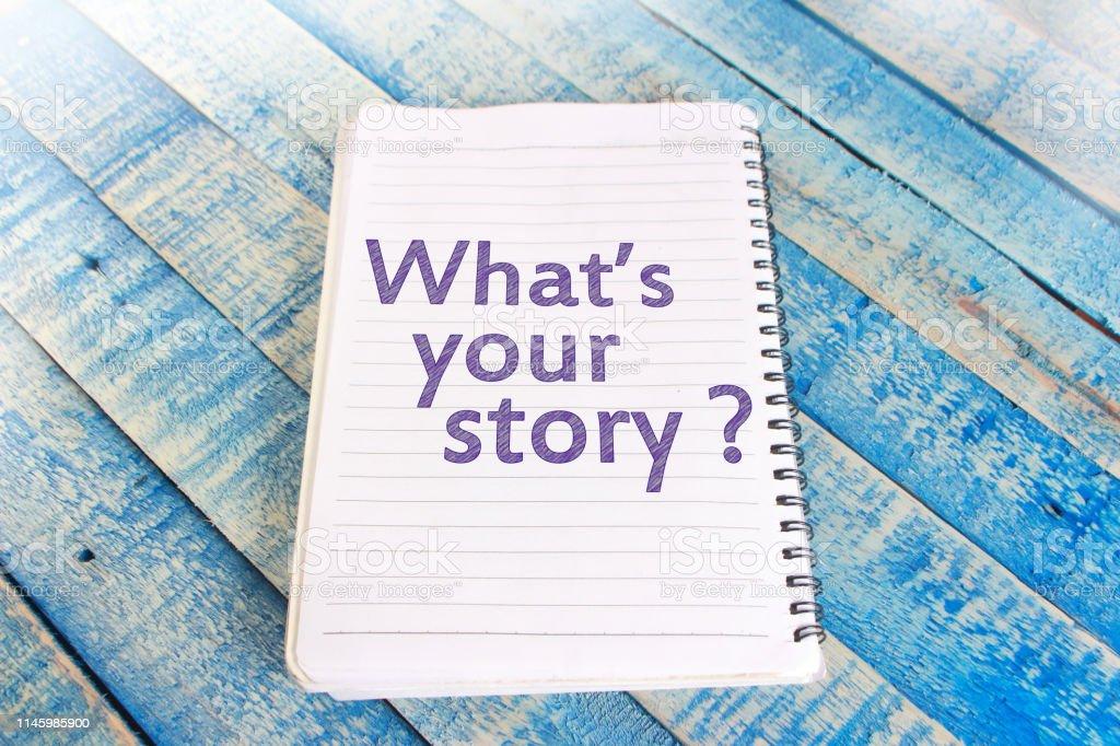 Cuál Es Tu Historia Frases Inspiradoras Motivacionales Foto De Stock Y Más Banco De Imágenes De Aprender