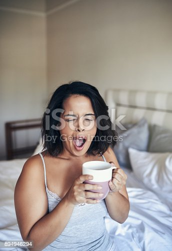 istock What? It's morning already 894946294