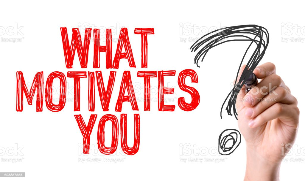 What Motivates You? stock photo