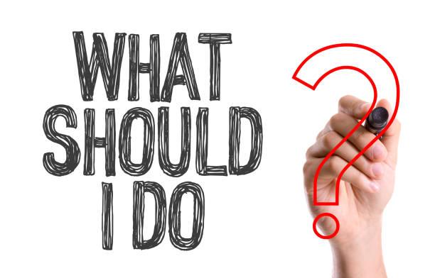 was sollte ich tun? - rechtsassistent stock-fotos und bilder