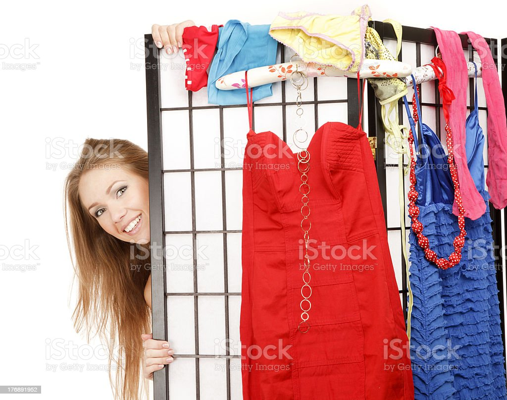 What should I dress? stock photo