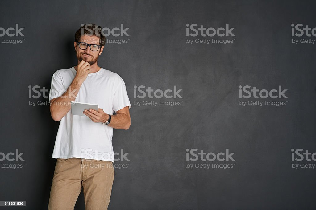 What should I post? stock photo