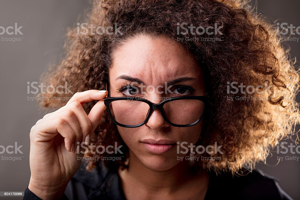 what the heck are you saying? stock photo
