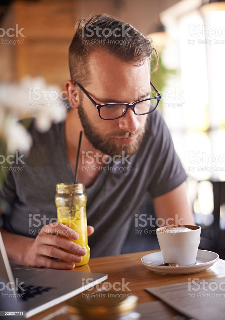 What to order? stock photo