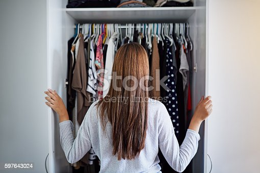 istock What to wear tonight? 597643024