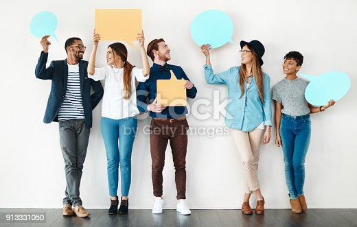 istock What we have to say is worth hearing 913331050