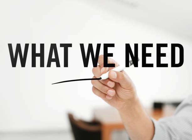 Was wir brauchen – Foto