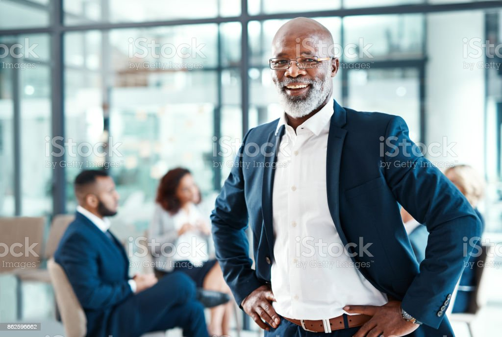 Whatever your position, be the best at it stock photo