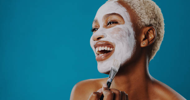 whatever your skin type, there's a mask for that - chemical peel stock pictures, royalty-free photos & images