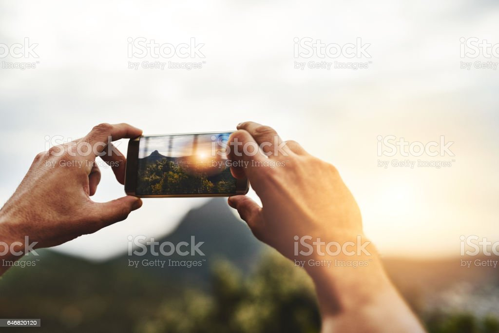 What's a getaway without the memories? stock photo