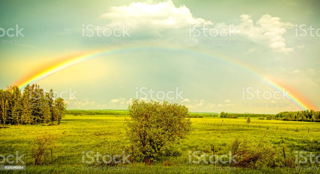 Whats At The End Of The Rainbow Stock Photo More Pictures Of