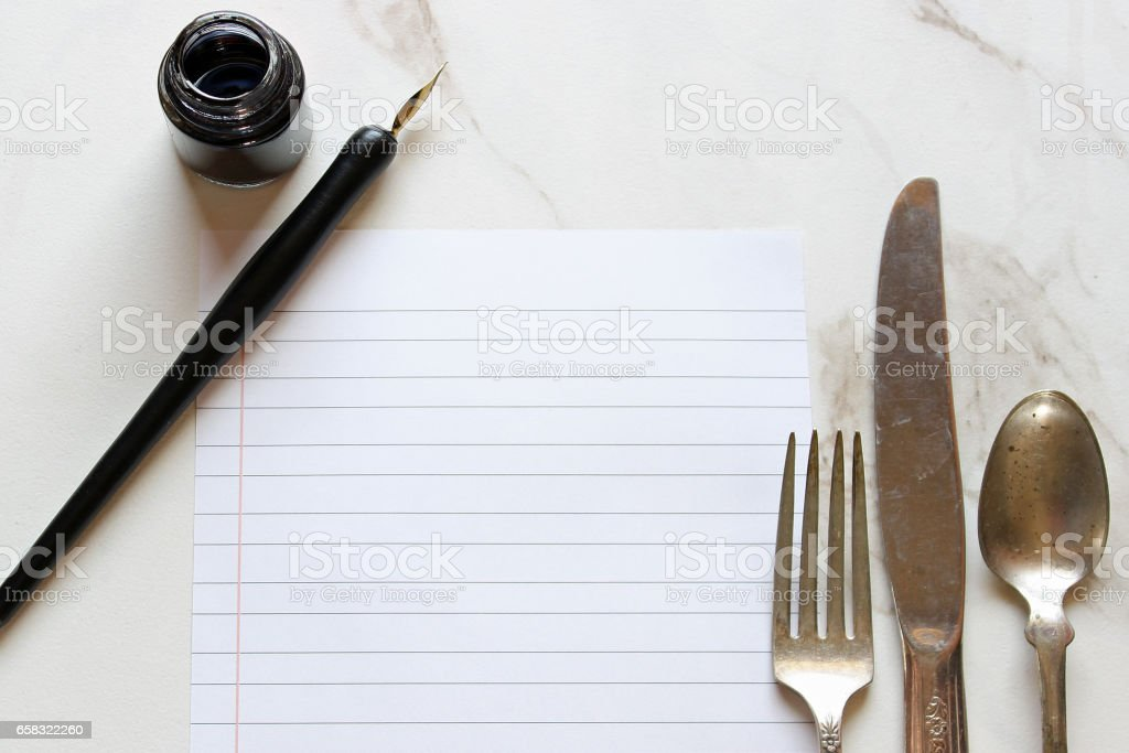 What's for dinner? stock photo