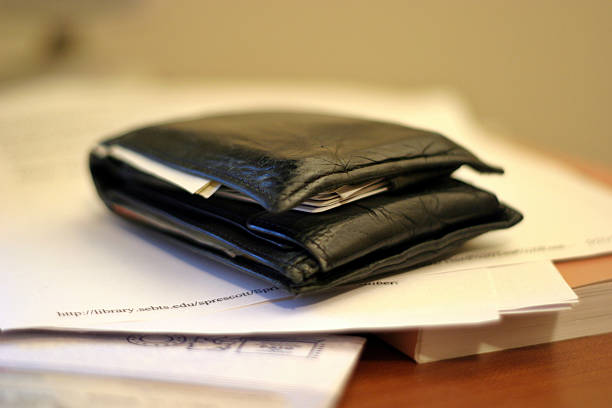 What's in Your Wallet? stock photo