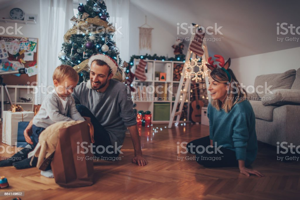 What's my Christmas present? royalty-free stock photo