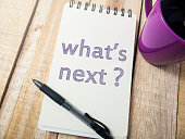 istock What's Next, Motivational Words Quotes Concept 1060980632