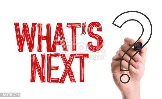 istock Whats Next? 831751746