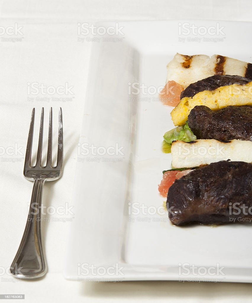 What's on the Menu? - Braised Pork Cheeks royalty-free stock photo