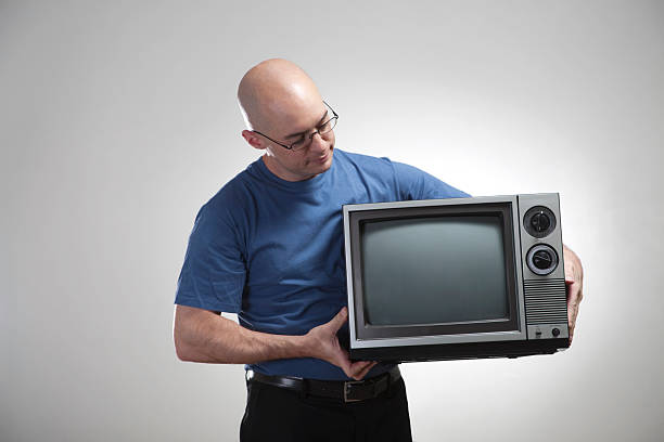 Whats On TV? stock photo